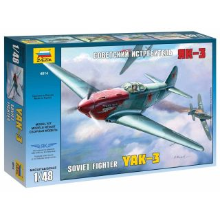 Model Kit lietadlo 4814 - YAK-3 Soviet WWII Fighter (1:48)