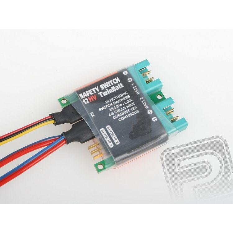 85009 safety-switch 12HV twinbatt