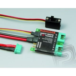 85010 Safety - switch 12HV twinbatt (M6)