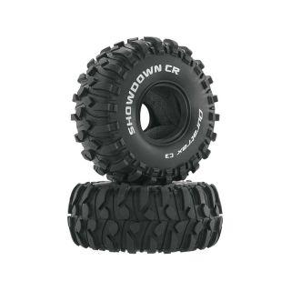 "Duratrax pneu 1.9"" Showdown CR Crawler C3 (2)"