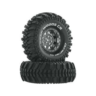 "Duratrax kolo 1.9"" Deep Woods CR C3 Crawler chrom (2)"
