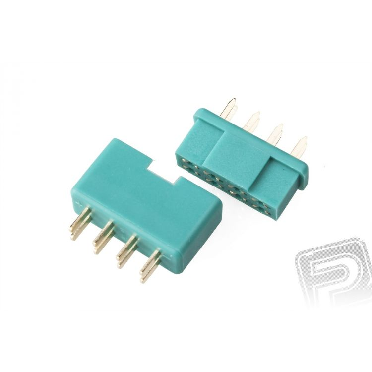 MPX8 konektor zelený (1 pár)