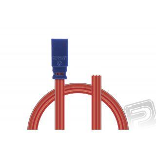 Servokabel (protikus) JR 0,25qmm plochý silikonkabel, 300mm, 1 ks.
