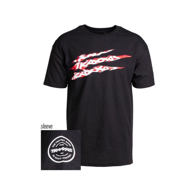 Traxxas tričko SLASH černé XL