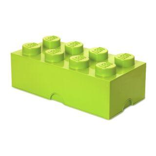 LEGO úložný box 250x500x180mm - světle zelený