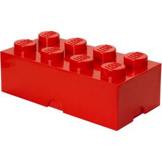 LEGO úložný box 250x500x180mm - červený