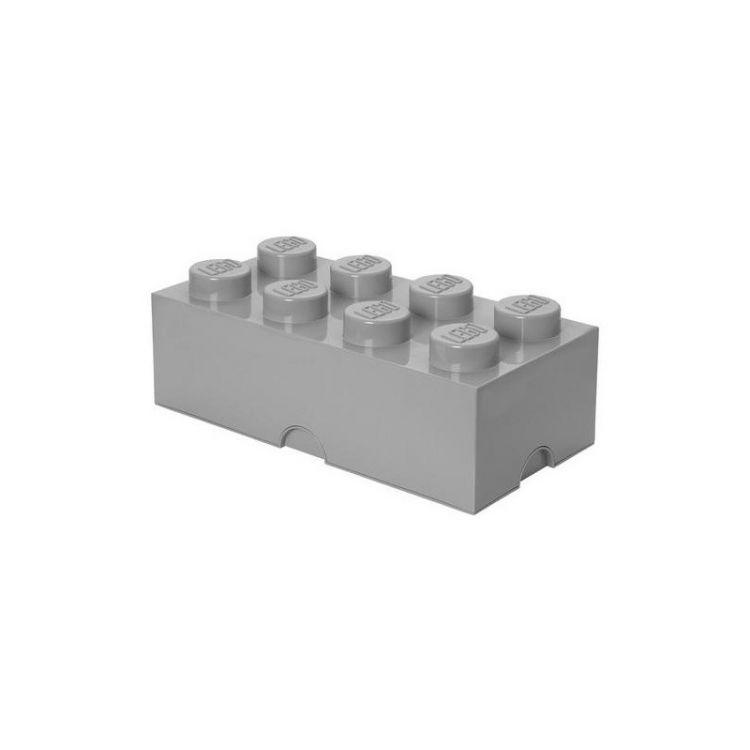 LEGO úložný box 250x500x180mm - šedý