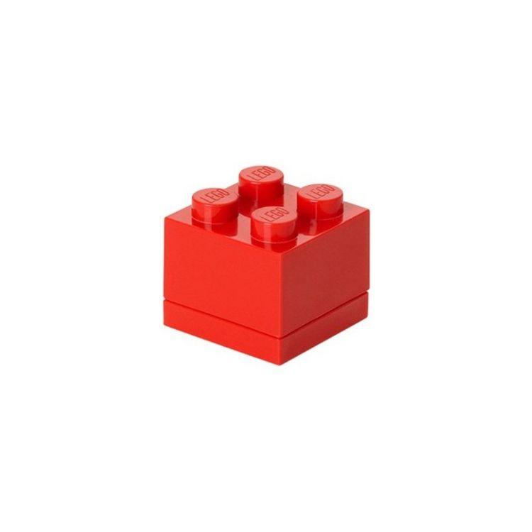 LEGO Mini Box 46x46x43mm - červený
