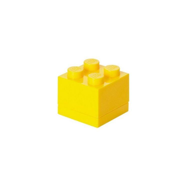 LEGO Mini Box 46x46x43mm - žlutý