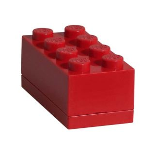 LEGO Mini Box 46x92x43mm - červený