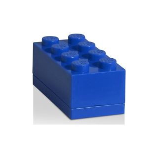 LEGO Mini Box 46x92x43mm - modrý
