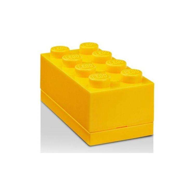 LEGO Mini Box 46x92x43mm - žlutý