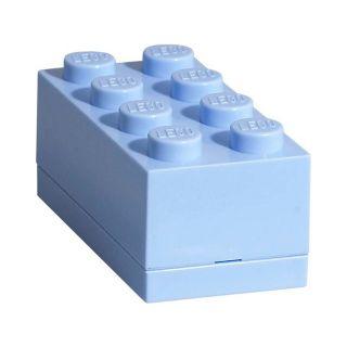 LEGO Mini Box 46x92x43mm - svetlo modrý