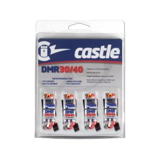 Castle regulátor DMR 30/40 multirotor (4ks)