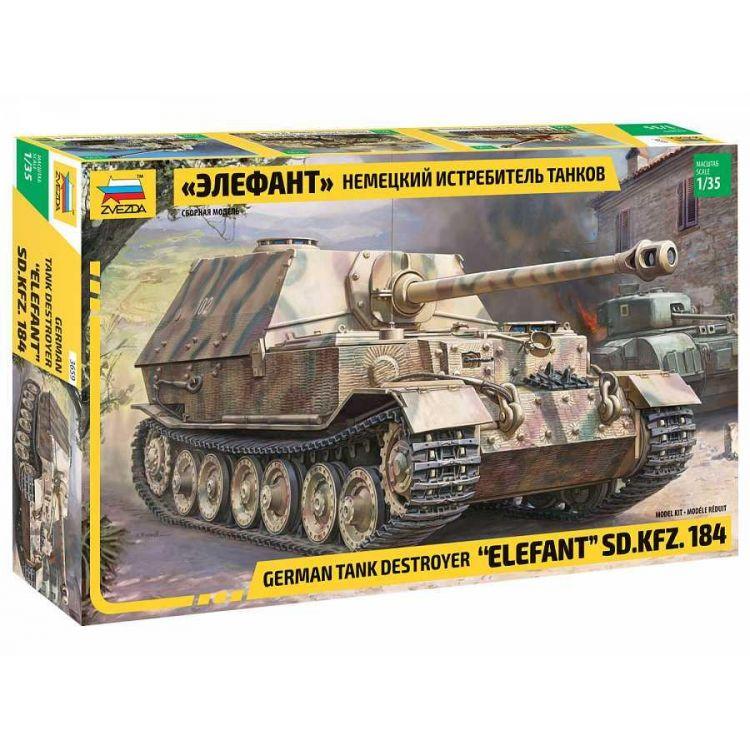 Model Kit military 3659 - Elefant Sd.Kfz.184 (1:35)