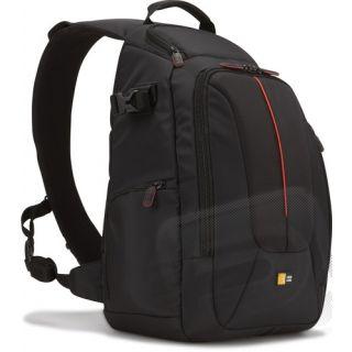 Klasický jednoramenný batoh (černý)