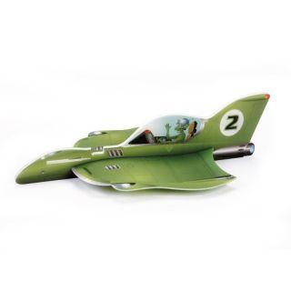 Vector Plane Alien Rocket
