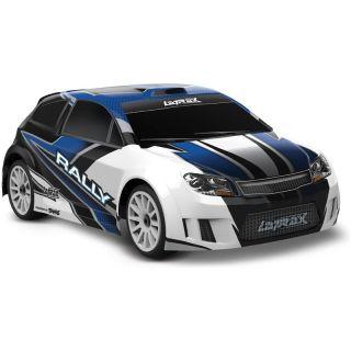 Traxxas Rally 1:18 4WD RTR modré