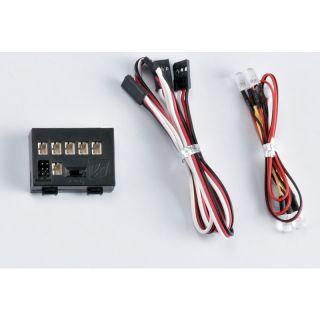 Killerbody světelná sada 2 LED s řídící jednotkou 1:10