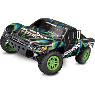 Traxxas Slash 1:10 4WD RTR zelený