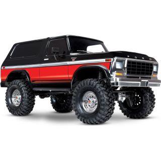 Traxxas TRX-4 Ford Bronco 1:10 TQi RTR červené