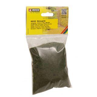 Posypová tráva, stredne zelená, 2,5 mm, 20 g