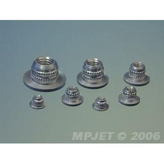 1004 Upevňovacie matice M3 (4 ks)