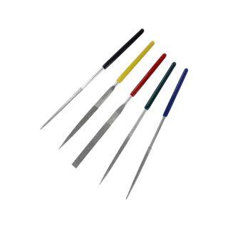 Modelcraft diamantové jehlové pilníky s rukojetí (5ks)