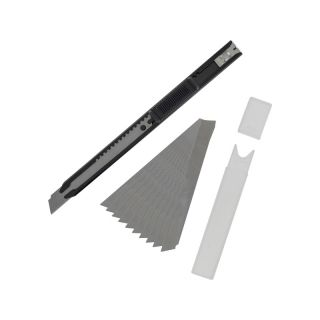Modelcraft zalamovací nůž úzký s 10 čepelemi 9 x 0.3 mm
