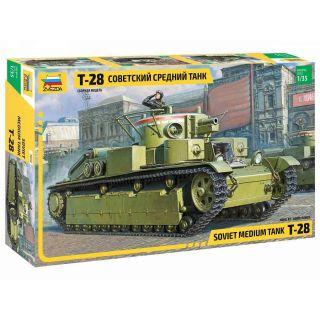 Model Kit tank 3694 - T-28 Heavy Tank (1:35)