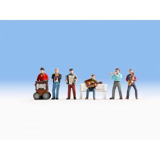 Zvuková scénka - Pouličný muzikanti