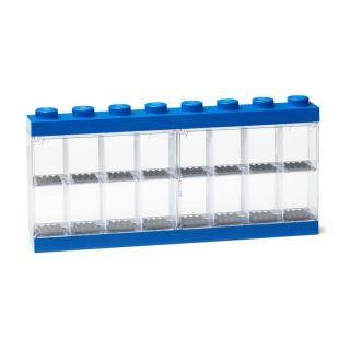 LEGO sběratelská skříňka velká - modrá