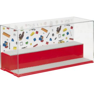 LEGO ICONIC gaming and collector cabinet - red