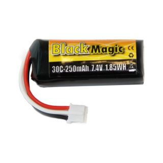 LiPol Black Magic 7.4V 250mAh 30C JST-PH