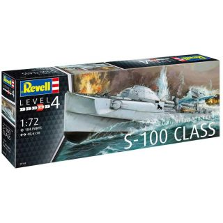 Plastic ModelKit loď 05162 - German Fast Attack Craft S-100 CLASS (1:72)