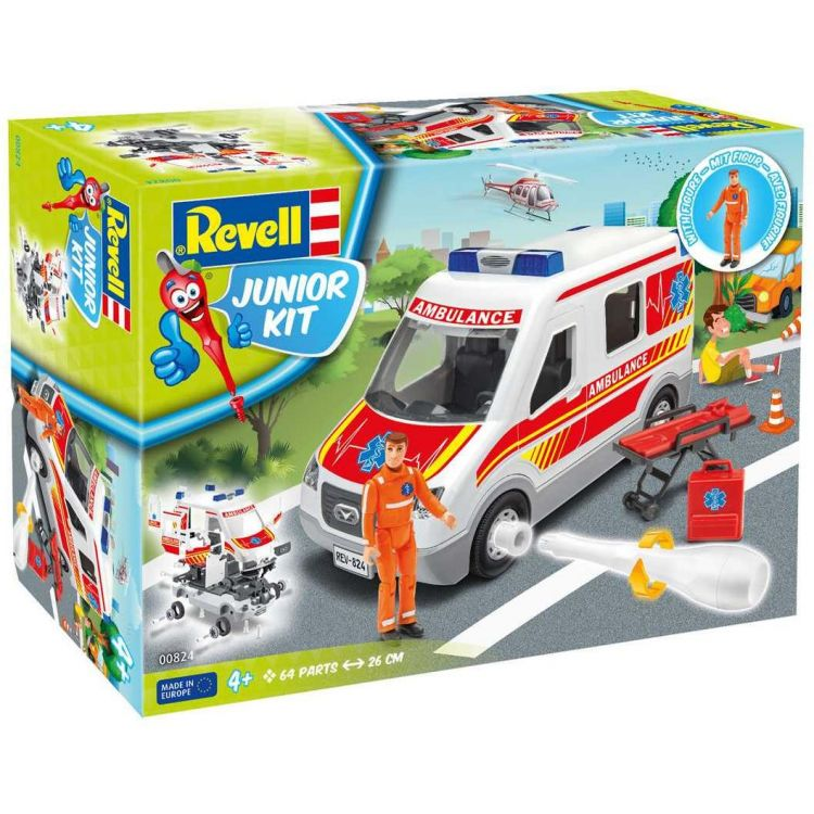 Junior Kit auto 00824 - Ambulance Car (1:20)