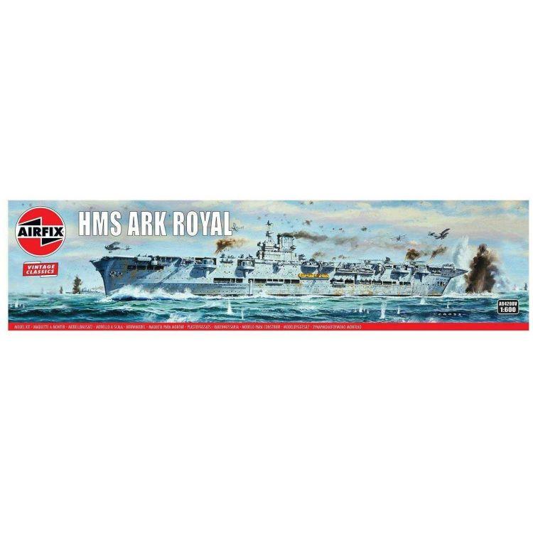 Classic Kit VINTAGE loď A04208V - HMS Ark Royal (1:600)