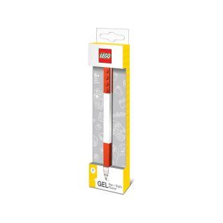 LEGO gelové pero, červené 1 ks