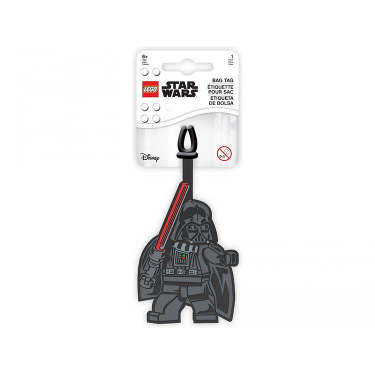 LEGO jmenovka na zavazadlo Star Wars Darth Vader