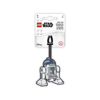 LEGO jmenovka na zavazadlo Star Wars R2D2