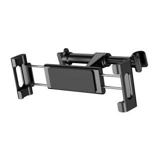 Držák tabletu na opěrku hlavy sedadla automobilu (černá)