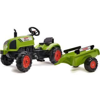 FALK - Šlapací traktor Claas Arion 410 svlečkou