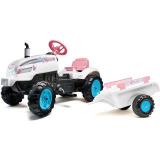 FALK - Šlapací traktor Butterfly Farmer svlečkou