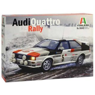 Model Kit auto 3642 - Audi Quattro Rally (1:24)