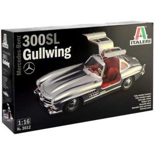 Model Kit auto 3612 - Mercedes-Benz 300 SL Gullwing (1:16)
