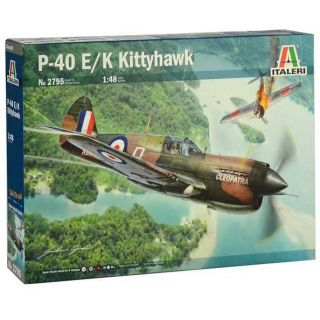 Model Kit letadlo 2795 - P-40E/K Kittyhawk (1:48)
