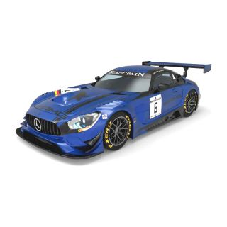 SCX Original Mercedes AMG GT3 Black Falcon