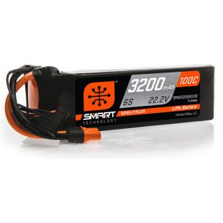 Spektrum Smart LiPo 22.2V 3200mAh 100C IC3