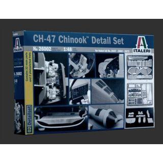 Model Kit doplňky 26002 - CH-47 CHINOOK SUPER DETAIL SET 1/48 (1:48)