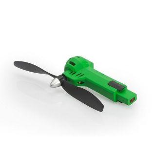 Zelené rameno vrátane motora a vrtule (CW, zelená LED) - Gravit Dark Vision